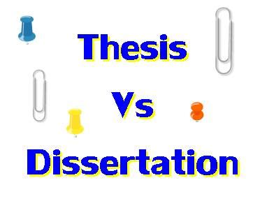 Dissertation proposal vs defense